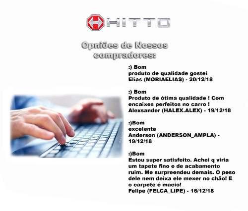 Kit Assoalho+porta Malas Freemont Borracha Bege Hitto !