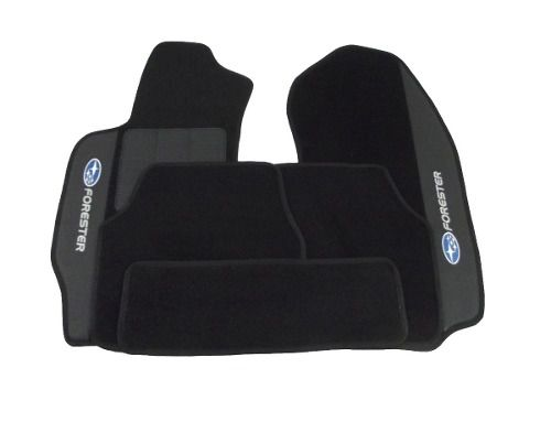 Kit Assoalho+ Porta Malas Subaru Forester Carpete Luxo