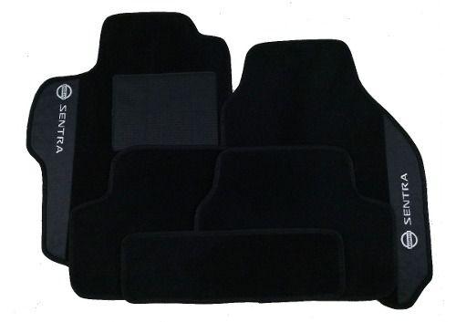 Porta Malas Nissan Sentra Carpete luxo Base Borracha Pinada