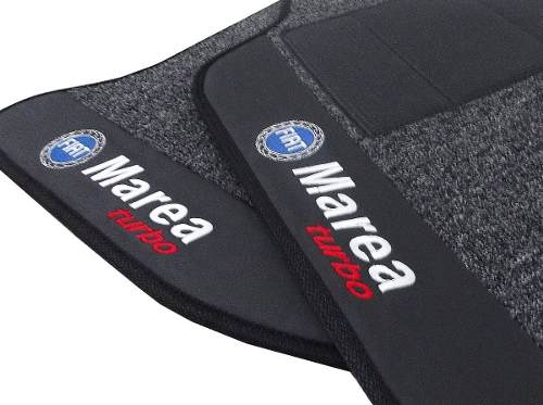 Tapete Fiat Marea Turbo Carpete Premium 12mm Base Pinada