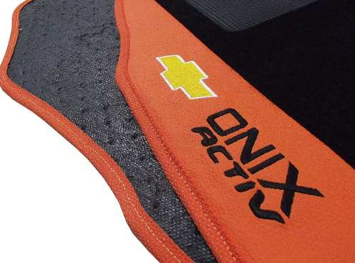 Tapete Onix Activ Carpete Luxo Base Borracha Pinada - Hitto!