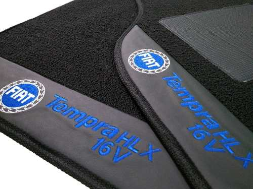 Tapete Fiat Tempra Carpete Premium 12mm Base Pinada