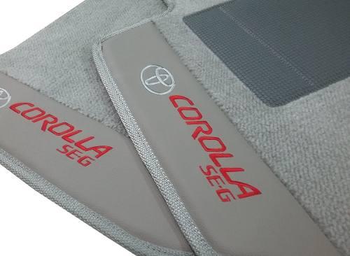 Tapete Corolla Carpete Premium 12mm Base Pinada