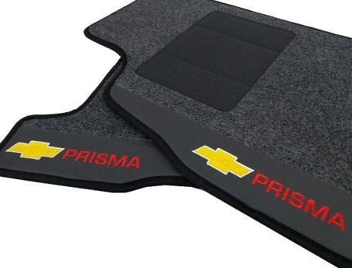 Tapete Gm Prisma Carpete Luxo Base Borracha Pinada