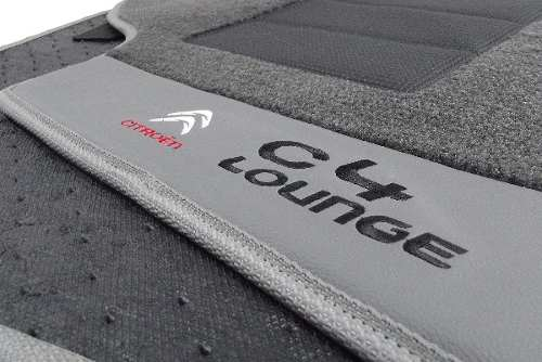 Tapete Citroën C4 Lounge Carpete Premium 12mm Base Pinada