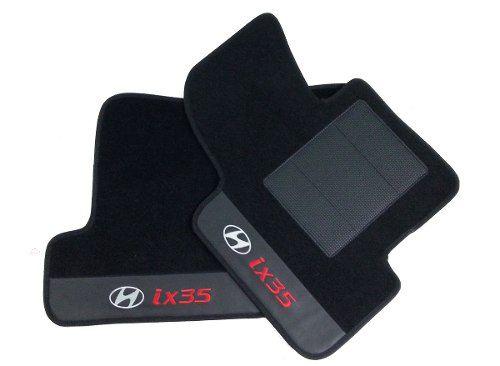 Kit Assoalho+ Porta Malas Hyundai Ix35 Carpete 8mm Base pinada