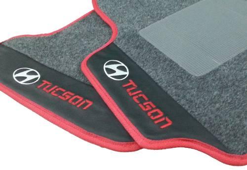 Tapete Original Hyundai Tucson Carpete 8mm Base Borracha Hitto