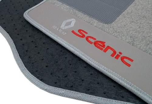 Tapete Renault Scenic Carpete 8mm Base Pinada