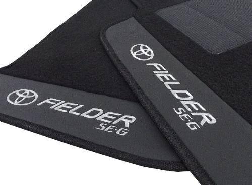 Tapete Toyota Fielder Carpete 8mm Base Pinada