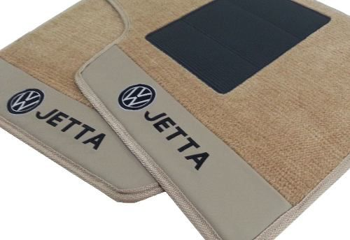 Tapete Vw Jetta Carpete Premium 12mm Base Pinada