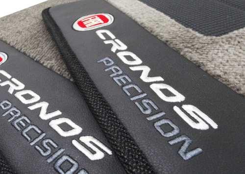 Tapete Fiat Cronos Carpete Precision Premium  Base Pinada
