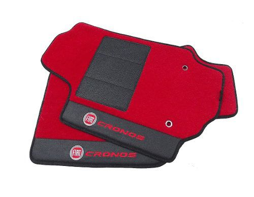 Tapete Fiat Cronos Carpete Premium Base Pina