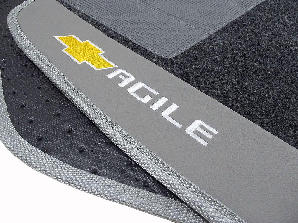 Tapete Carpete Agile Luxo Base Borracha Pinada