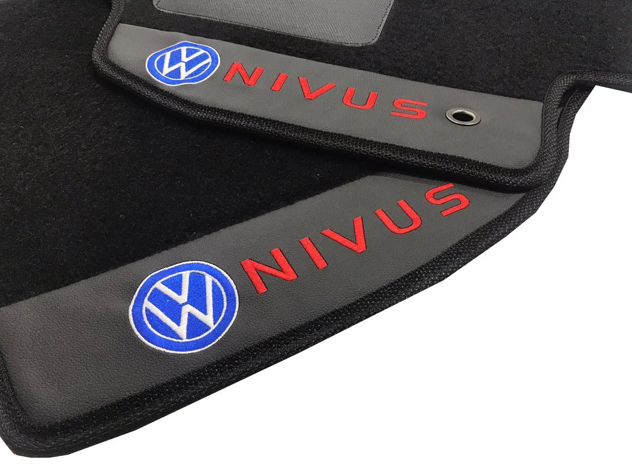Jogo de Tapetes Carpete Premium Nivus Original Hitto