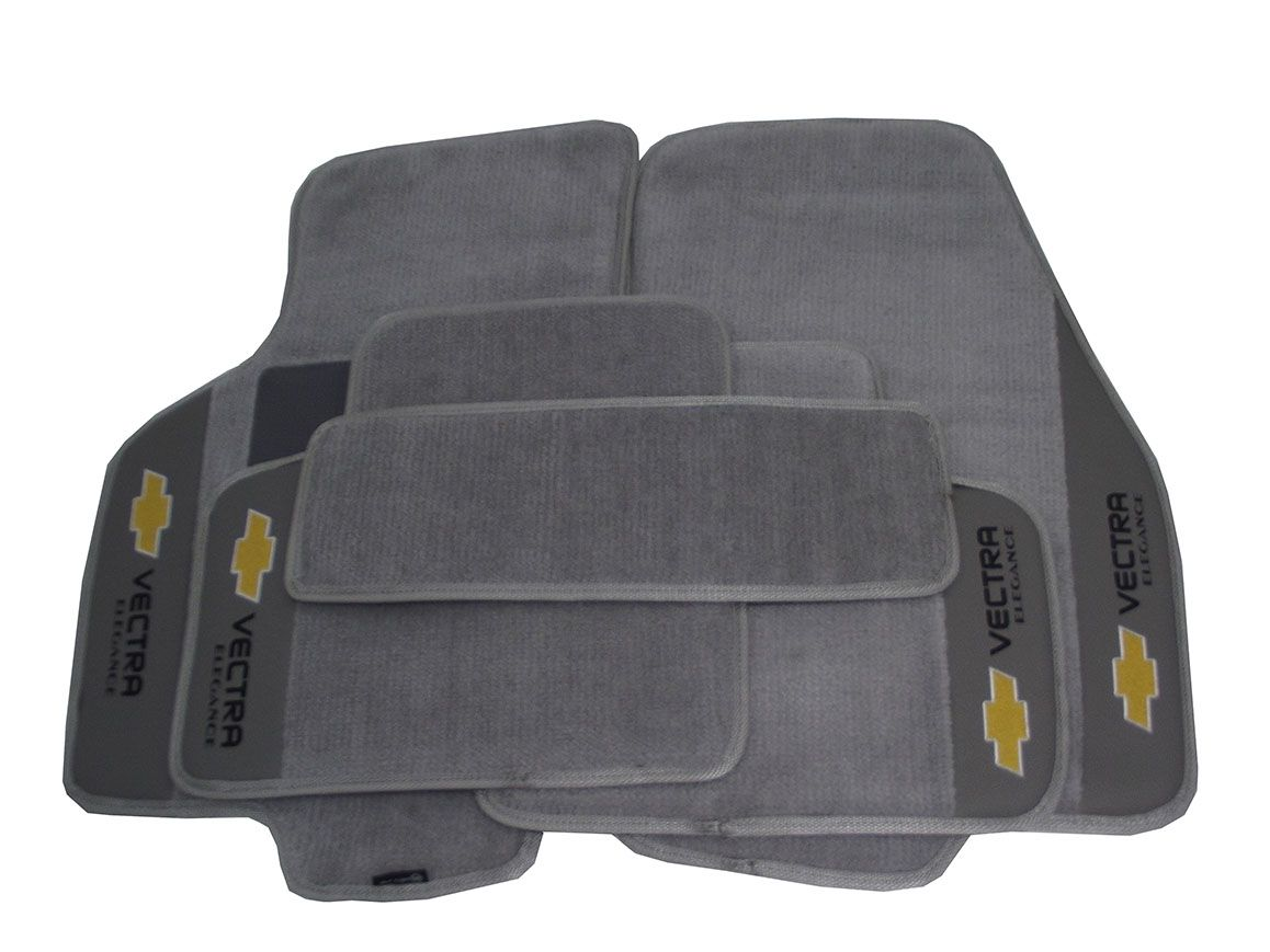 Kit Assoalho + Porta Malas Vectra Carpete Premium 12mm