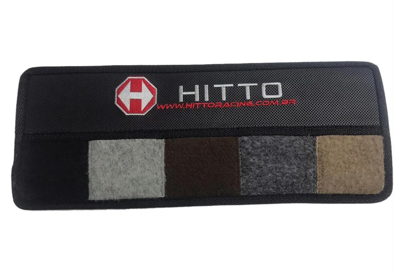 Kit Jogo de Tapete Carpete+Porta Malas Caravan Carpete Luxo Base Pinada