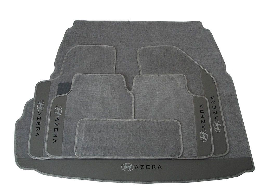 Kit Jogo de Tapete + Porta Malas Hitto Hyundai Azera 12MM Premium Base Pinada