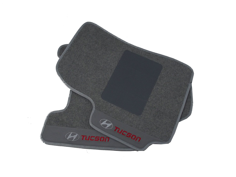Kit Jogo de Tapete + Porta Malas Hitto Tucson 12MM Premium Base Pinada