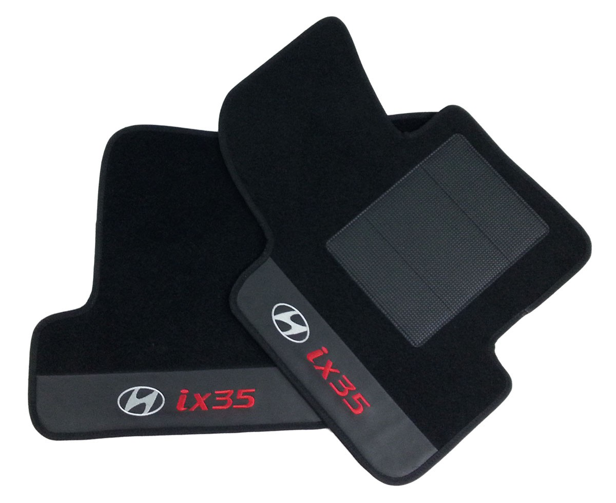 Kit Tapete Assoalho + Porta Malas Premium  Hyundai Ix35
