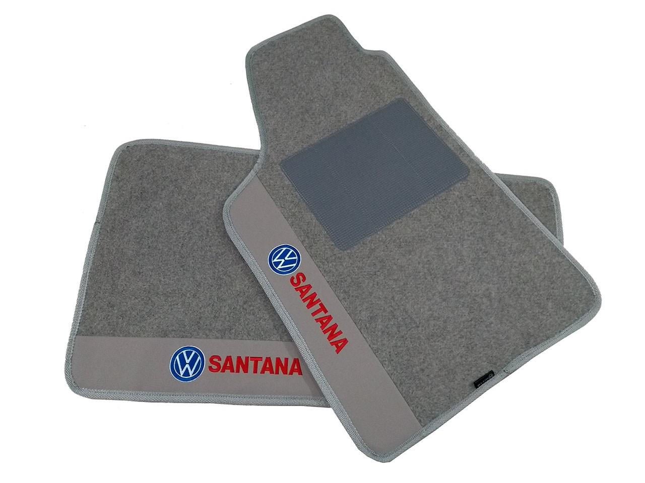 Kit Tapete Carpete Luxo Base Pinada Personalizado Vw Santana