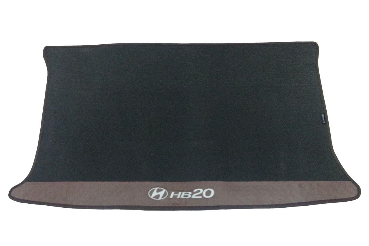Kit Tapete Hyundai Hb20 Carpete Premium  Base Pinada