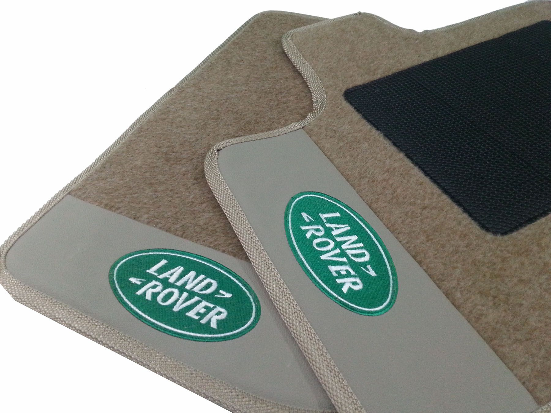 Kit Tapetes+Porta Malas Carpete Land Rover Discovery Luxo Base Pinada
