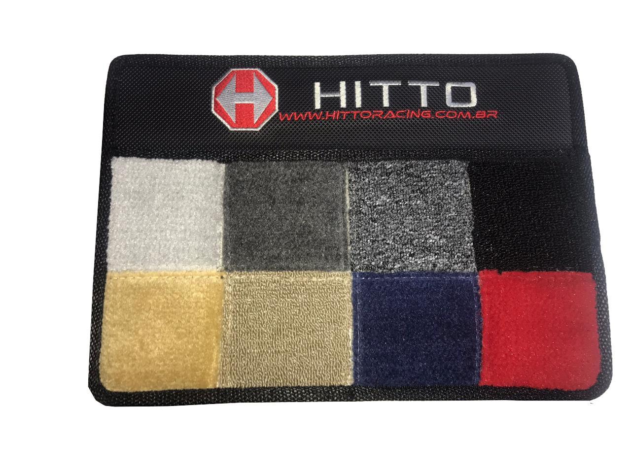 Par Tapete Fiat Fiorino Carpete Premium  Base Pinada