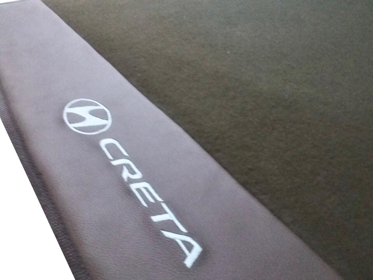 Portas Mala Luxo Marrom Hyundai Creta O Melhor!