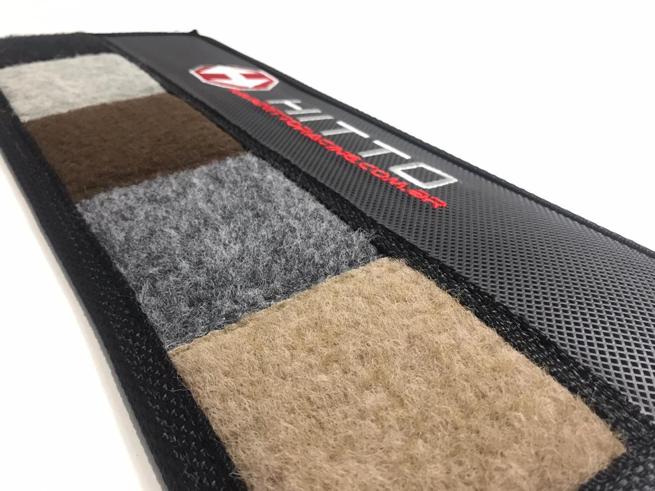 Tapete Audi A4 2011/12 Carpete Luxo Base Borracha Pinada