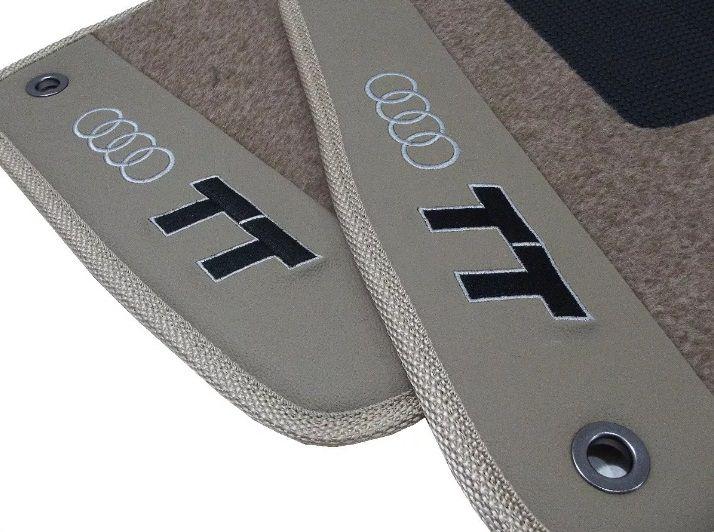 Tapete Audi Tt Carpete Premium  Base Borracha Pinada