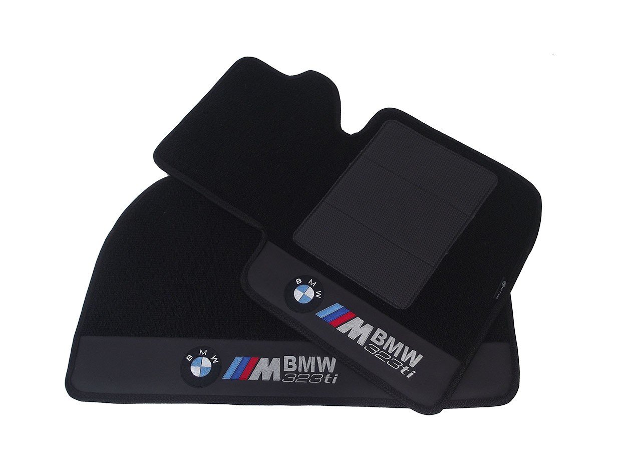 Tapete Bmw 323ti Preto Carpete Premium 12mm