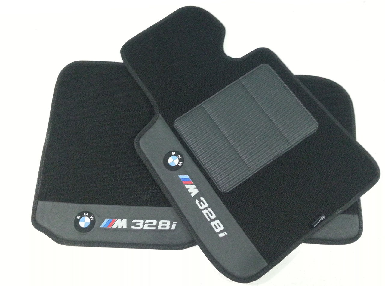 Tapete Bmw 328 Carpete Premium base pinada