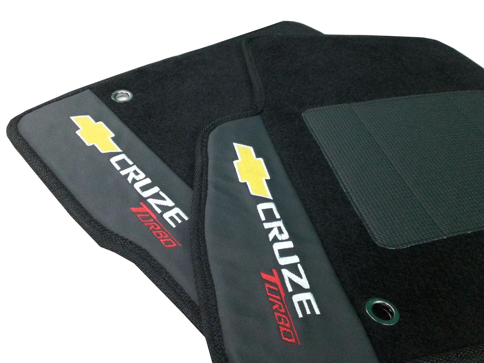 Tapete Carpete Chevrolet Cruze Turbo Preto  Premium