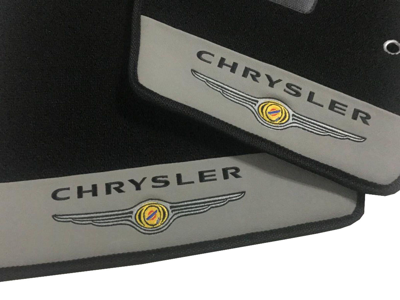 Tapete Carpete Chrysler Towny country 12mm Premium Original