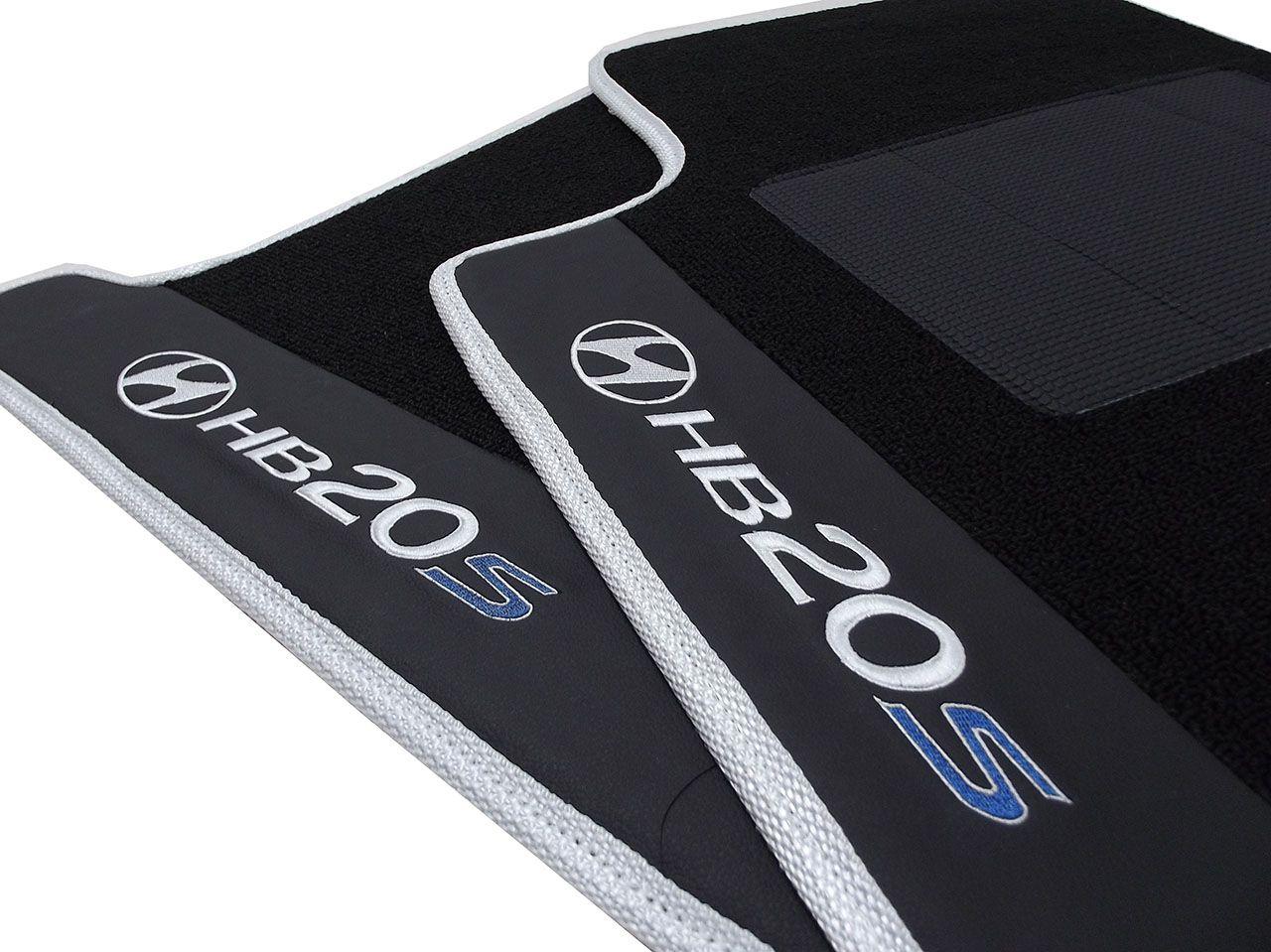 Tapete Carpete Premium  Hyundai Hb20s Hitto O Melhor!