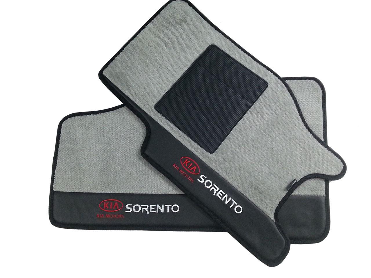 Tapete Carpete Sorento Kia, Premium Bouclê