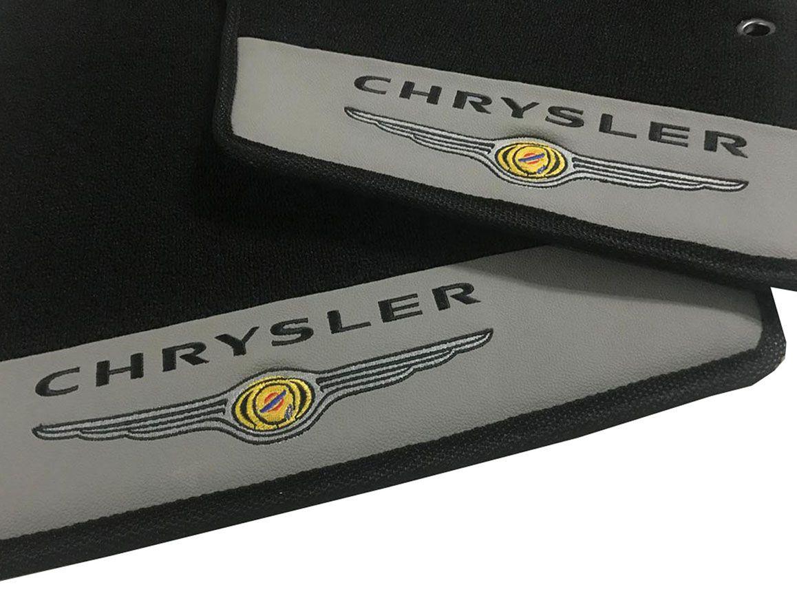 Tapete Chrysler Neon Carpete Luxo Base Pinada
