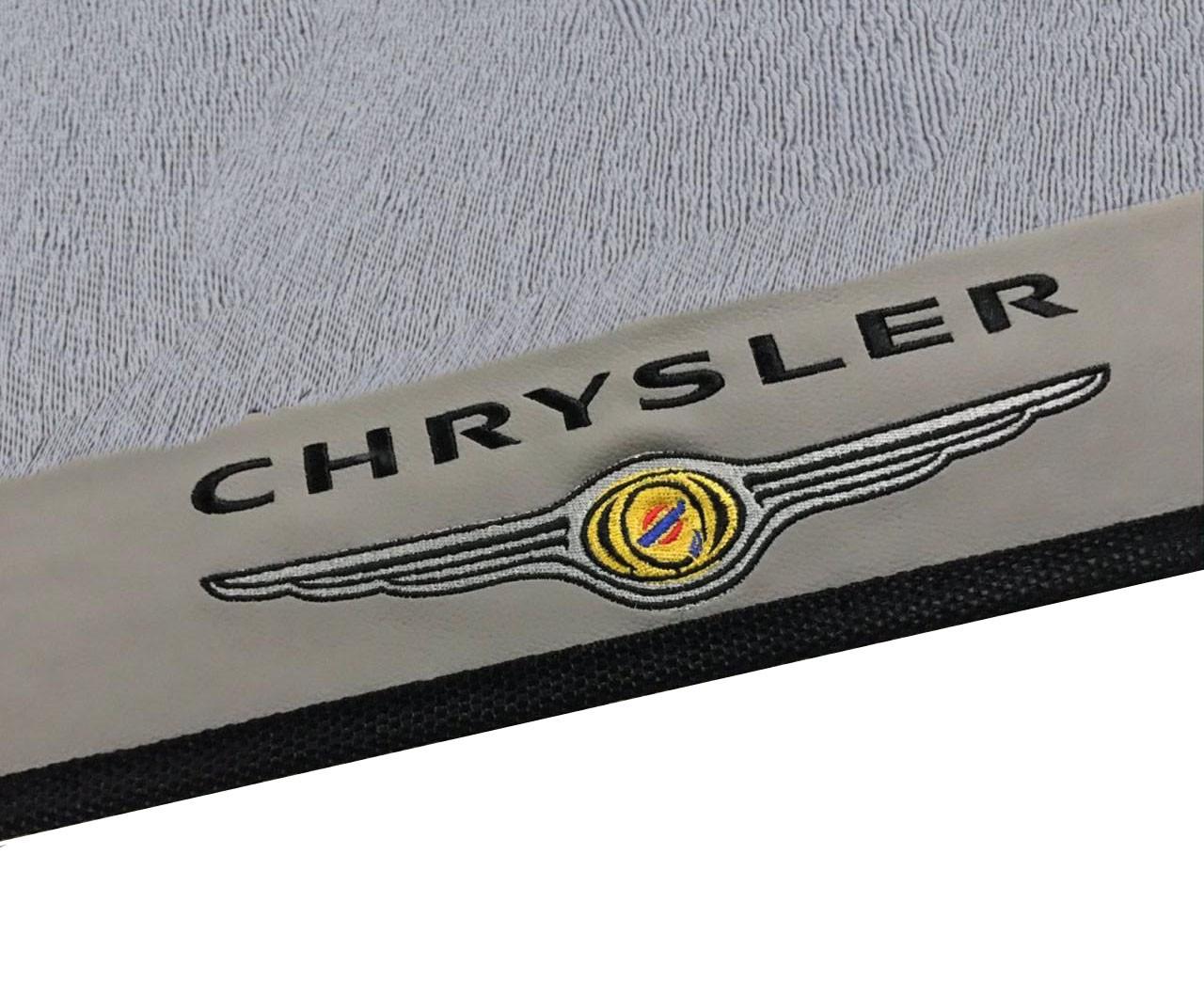 Tapete Chrysler Pt Cruiser Borracha Cinza Base Pinada Hitto