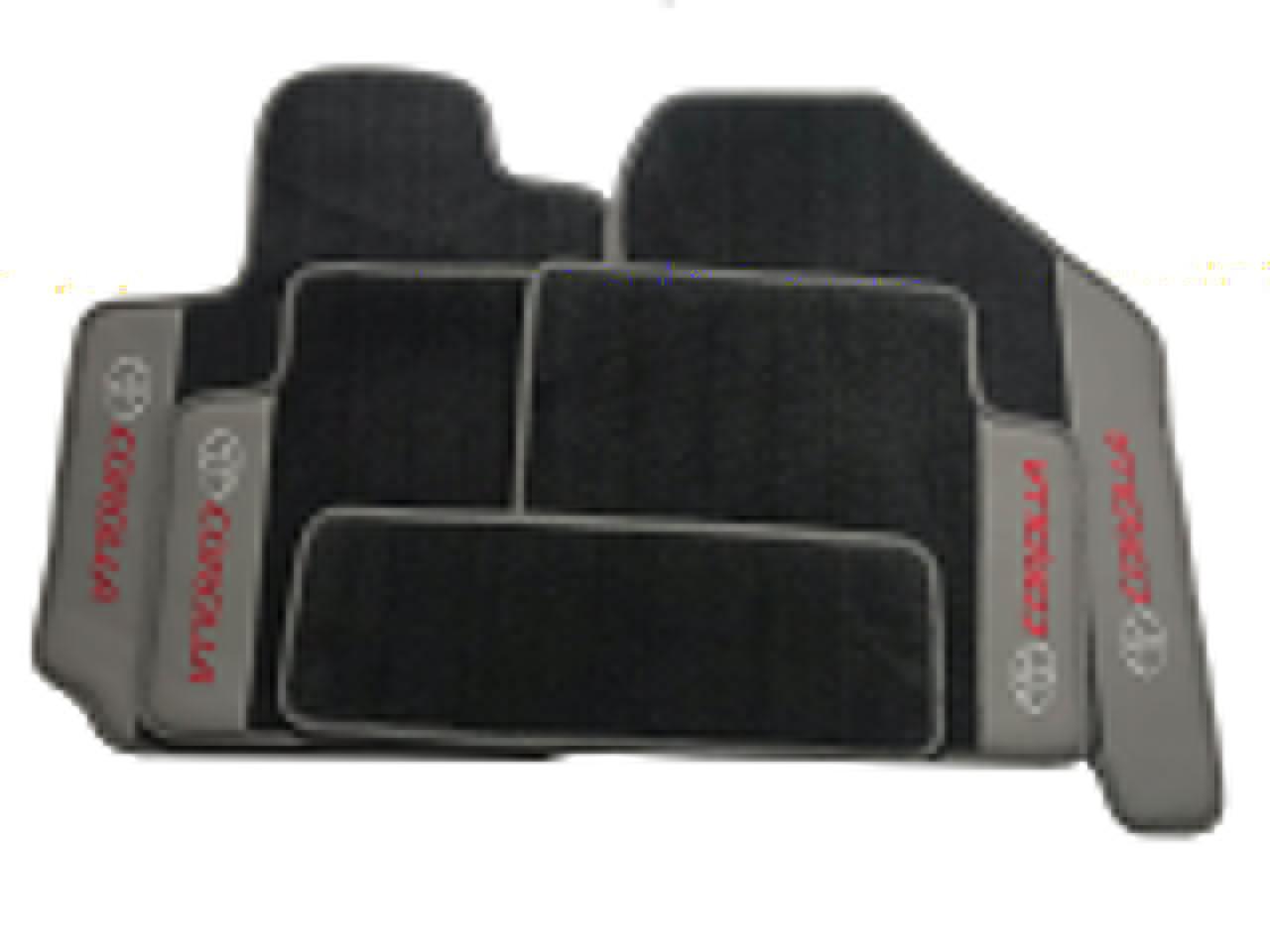 Tapete Corolla Carpete Premium  Base Pinada Hitto