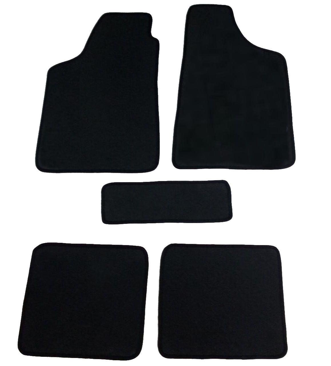 Tapete Fiat 500 Carpete Exclusiv Base Pinada