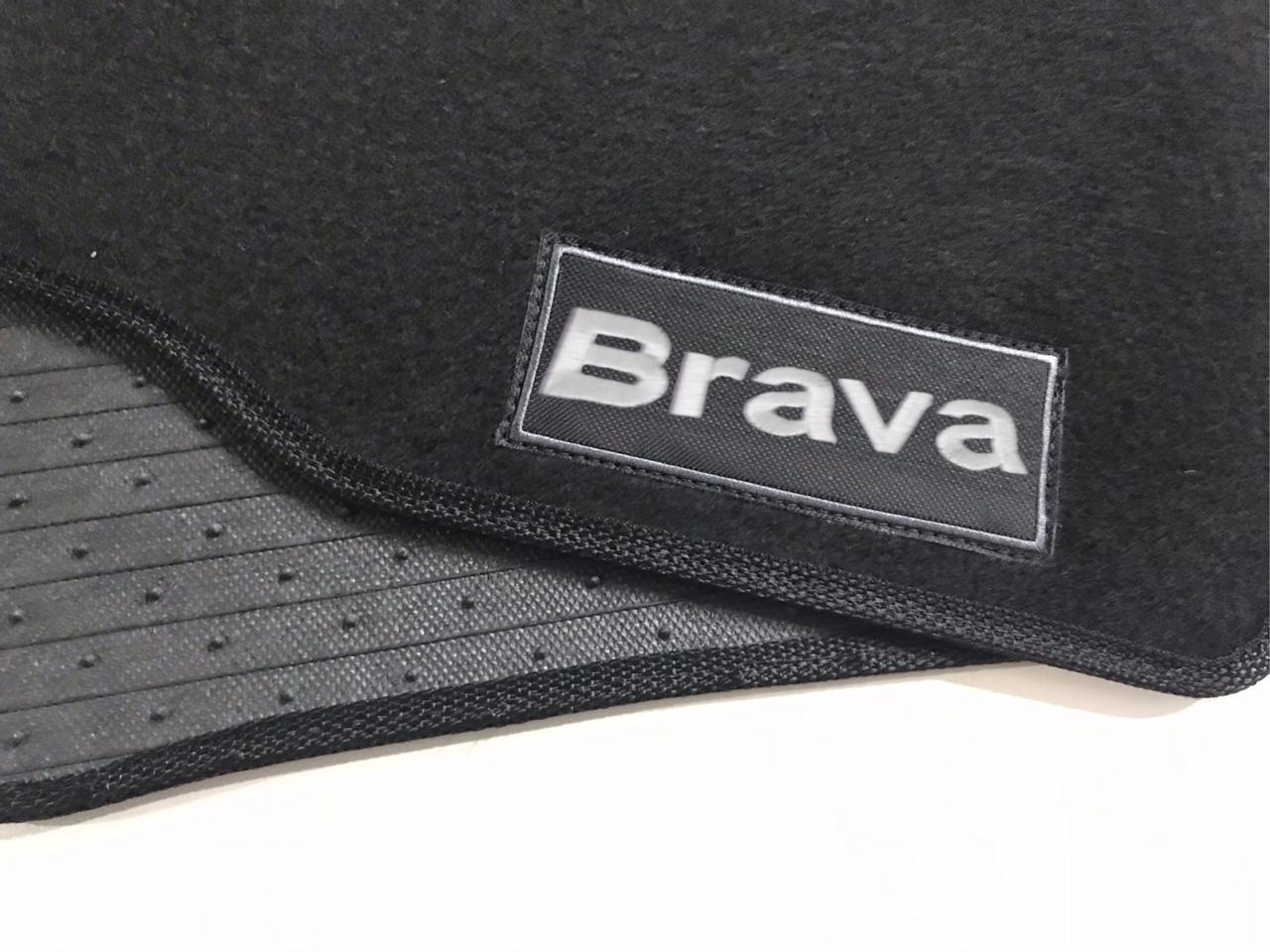 Tapete Fiat Brava Carpete Exclusiv Base Pinada