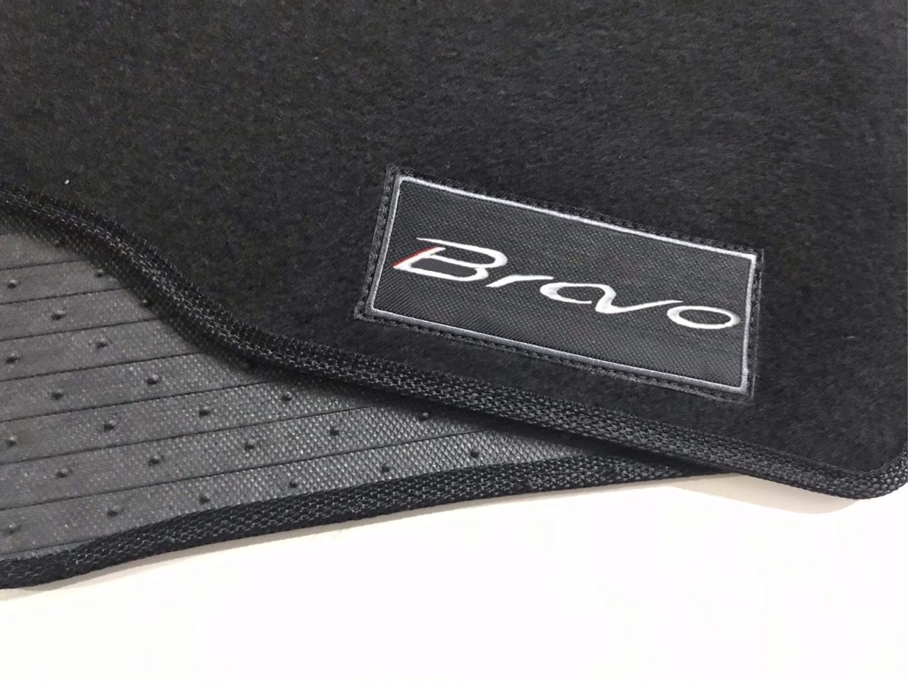 Tapete Fiat Bravo Carpete Exclusiv Base Pinada