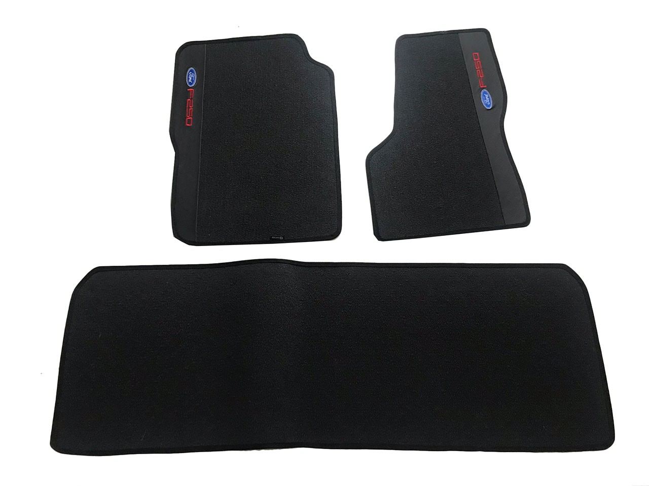 Tapete Ford F250 Cabine Dupla Carpete Luxo Base Pinada