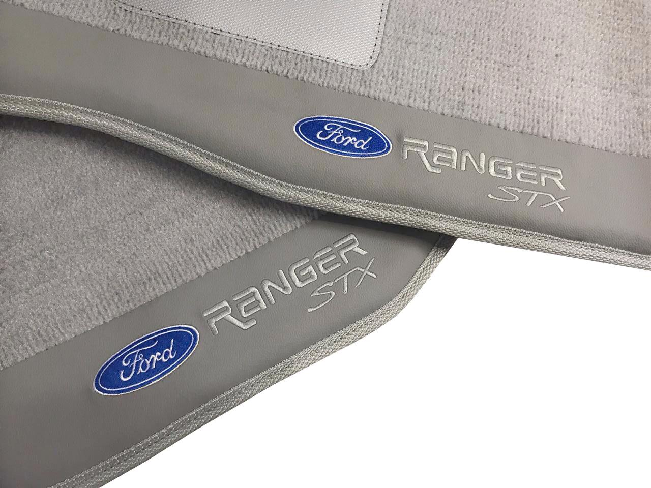 Tapete Ford Ranger Stx Carpete Premium