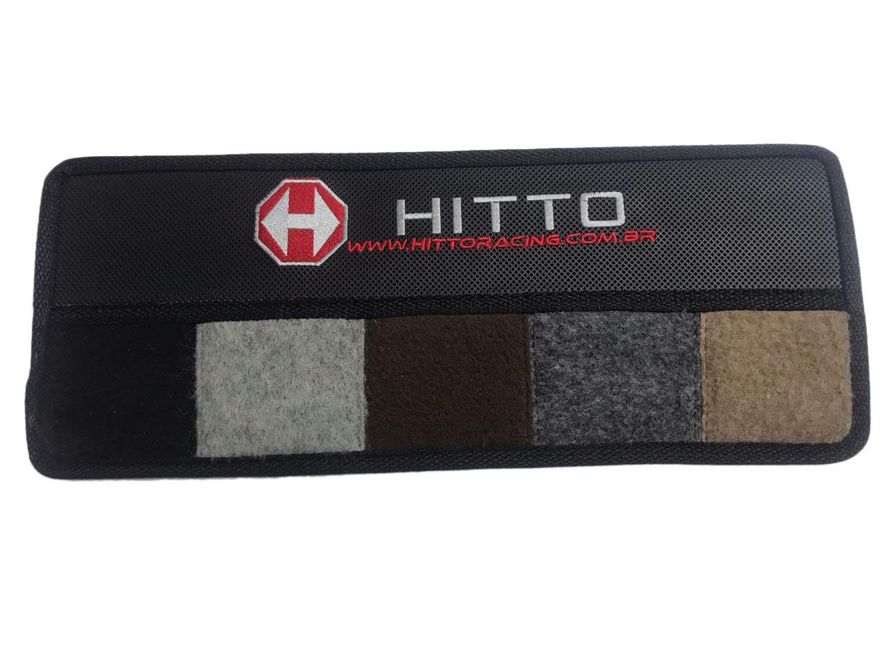 Tapete Gm Cd D20 Bonanza Carpete Luxo Preto Hitto