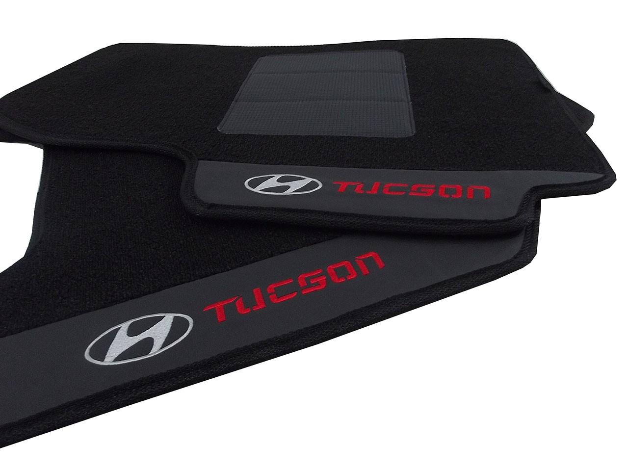Tapete Hyundai Veloster Carpete Luxo Base Pinada