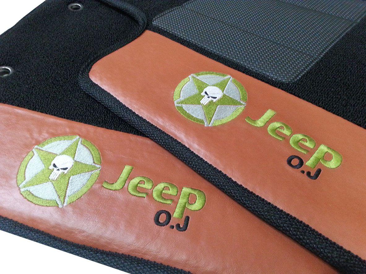 Tapete Jeep Compass Carpete Premium Original