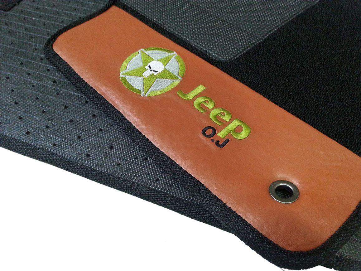 Tapete Jeep Renegade personalizado carpete 12mm hitto!!