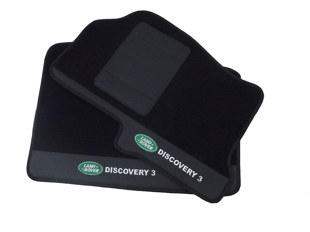 Tapete Land Rover Discovery 3 Carpete Premium 12mm Base pinada