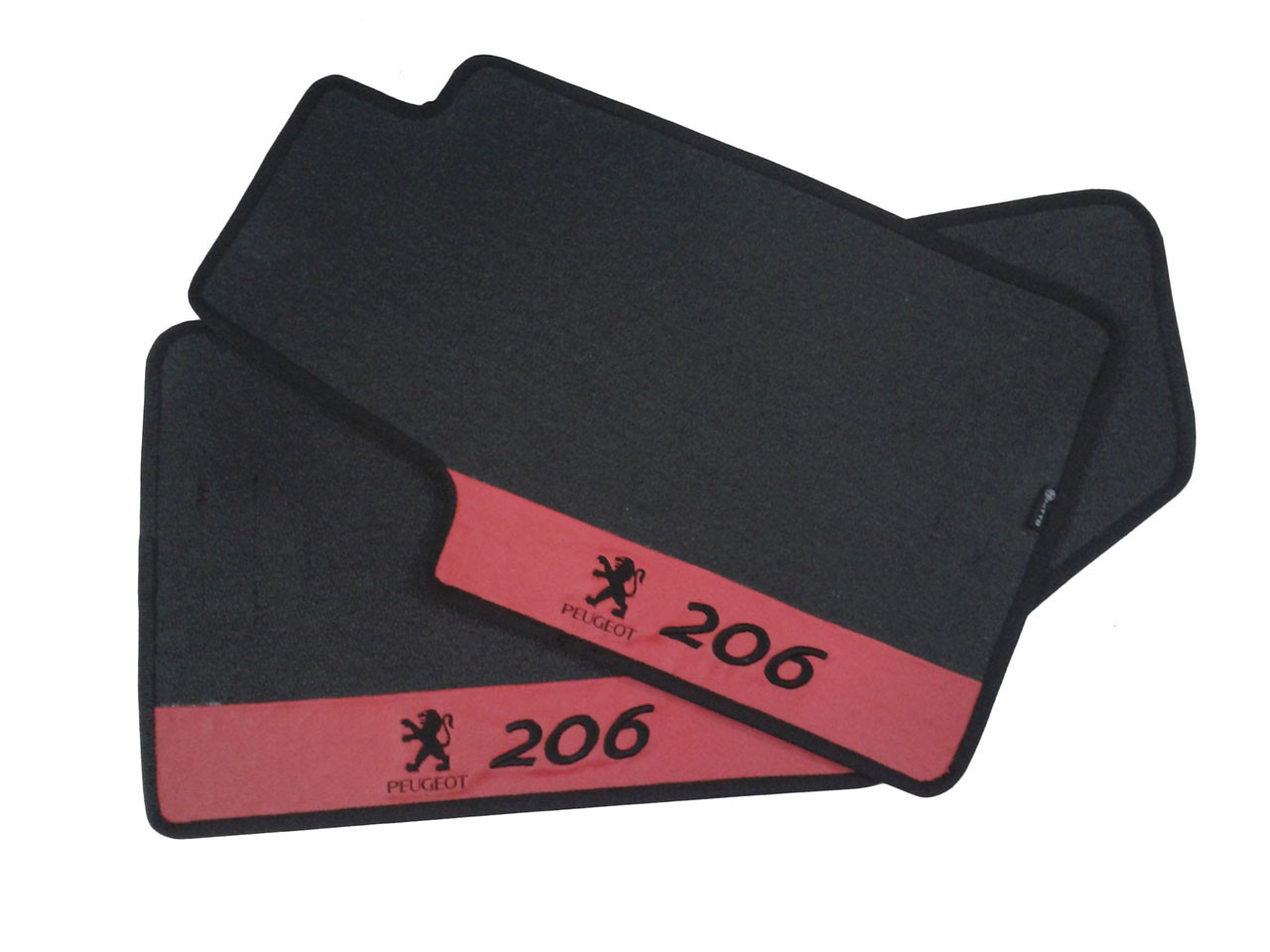 Tapete Peugeot 206 Carpete Luxo Base Pinada
